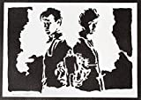 Doctor Who Poster Plakat Handmade Graffiti Street Art - Artwork