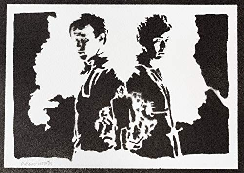 Poster Doctor Who Grafiti Hecho a Mano - Handmade Street Art - Artwork