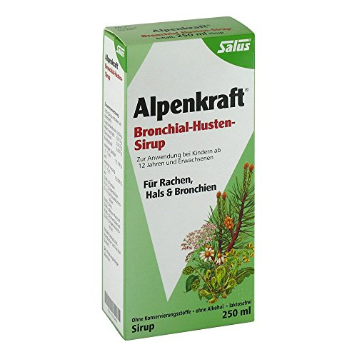 Salus Alpenkraft Bronchial-Husten-Sirup, 250 ml Sirup