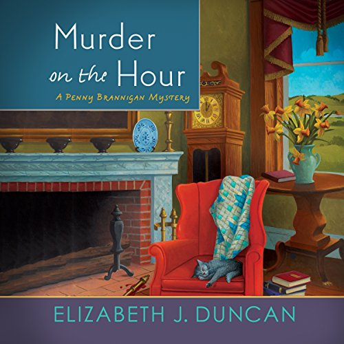Murder on the Hour audiobook cover art