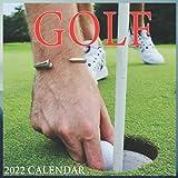 Golf Calendar 2022 - Cute Gift Idea For Golfing Lovers Men And Women: Golf Courses 2022 Calendar - Sport calendar 2022