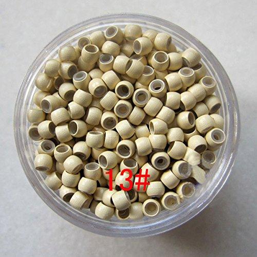1000 eenheden per partij siliconen Nano kralen, Micro Nano Ring met siliconen lijn voor Nano Tip haar Hot Koop (3#) 5mm 13#