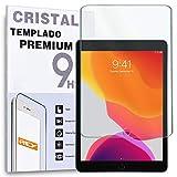 REY Protector de Pantalla para iPad 10.2' 2019 - iPad 10.2' 2020, Cristal Vidrio Templado Premium, Táblet