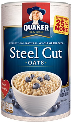 Quaker Oats Steel Cut Oatmeal, 30 Ounce