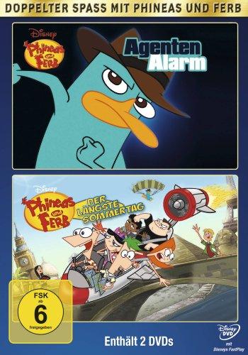Phineas und Ferb: Agentenalarm/Der längste Sommertag (2 DVDs)