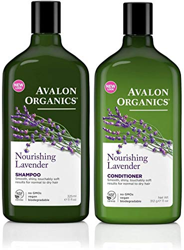 Avalon Lavande Shampoing & Revitalisant Duo