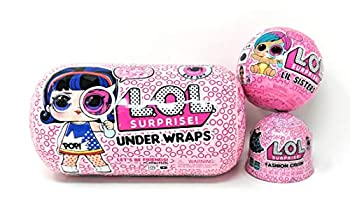L.O.L Surprise! Under Wraps Eye Spy Series 4-1 Bundle with LOL Lil Sister Wave 2 and Fashion Crush