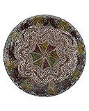 Etnico 0506191249 - Plato de Centro de Mesa de cerámica para Pared, decoración árabe marroquí