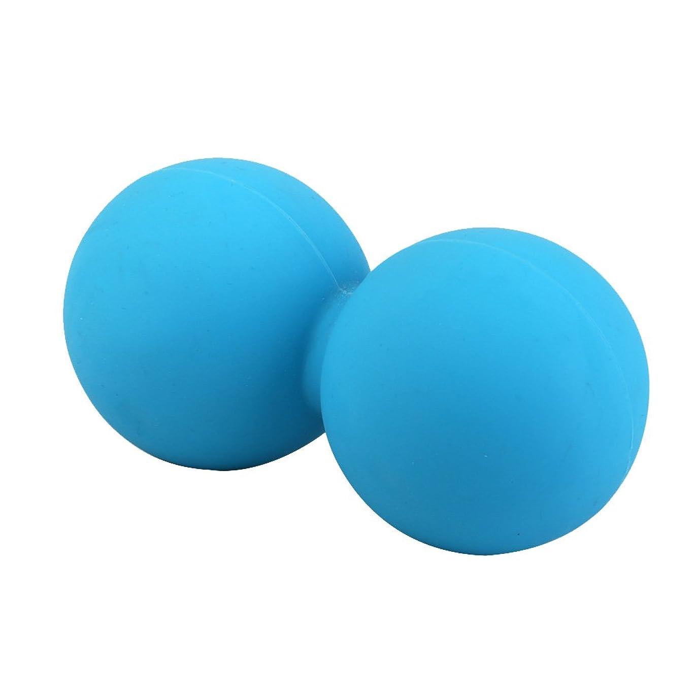 逆さまに報復可塑性Footful マッサージボール 健康グッズ 健康器具 血液循環促進 緊張緩和 ブルー 固体