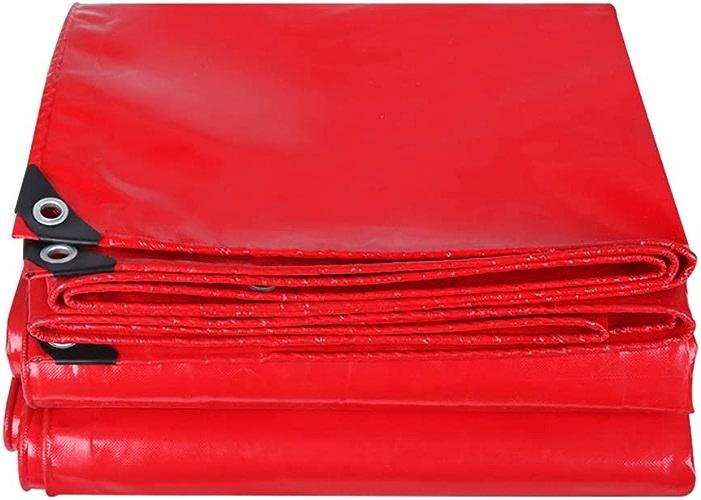 L-BHQF Bache imperméable épaississante Rouge, Pare-poussière de Camion de auvent imperméable de Prougeection Solaire (500g (Taille   4×4m)