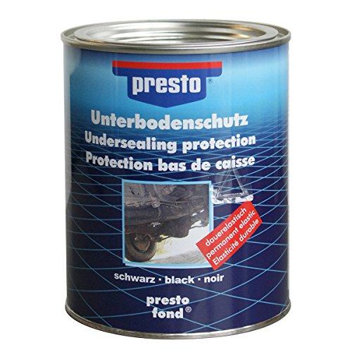 Presto 603253 Bitumen-Unterbodenschwarz, 1.3 kg, Schwarz