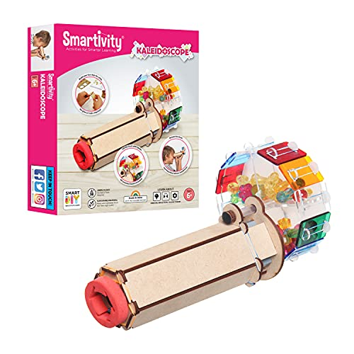 Smartivity Fantastic Optics Kaleidoscope STEM Educational DIY Fun Toys, Educational & Construction based Activity Game for Kids 6 to 14, Gifts for Boys & Girls, Made in India