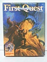 First Quest/Audio Cd Game (Advanced Dungeons & Dragons 2nd Edition) 1560768444 Book Cover