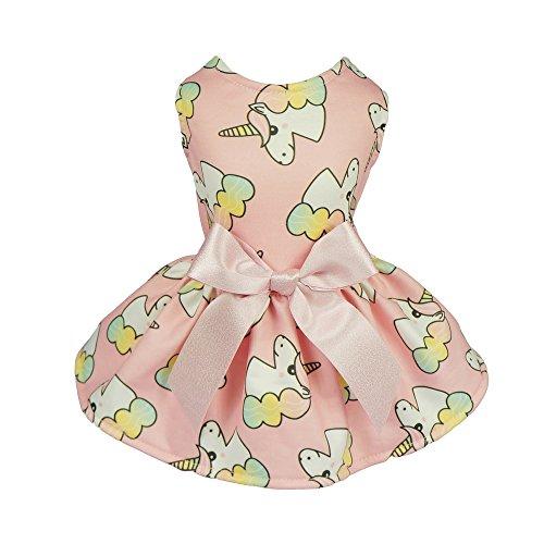 Fitwarm Fairy Unicorn Dog Dress