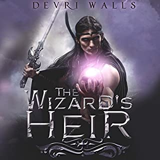The Wizard's Heir audiobook cover art
