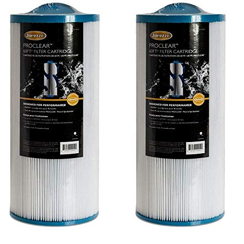 Jacuzzi Proclear 6000-383 Filter, 60 Sq Ft, J-300 Series (2002+) (1, Clear)