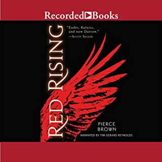 Red Rising audiobook cover art