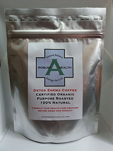 RobustaHealth Organic, 100% Natural Detox Enema Coffee - 217 g
