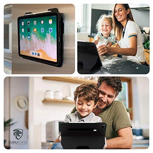 ZUGU Funda para iPad Pro 12.9 2020 4.ª Generación, Alpha Case Protectora Pero Delgada con 10 Ángulos de Visión… 6