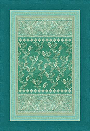 Bassetti 9310928 Plaid Matera V1 grün 135 x 190 cm