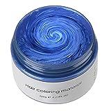 Hair Color Wax, KooJoee Temporary Hair Dye Easy Wash Hairstyle Cream 4.23 oz...