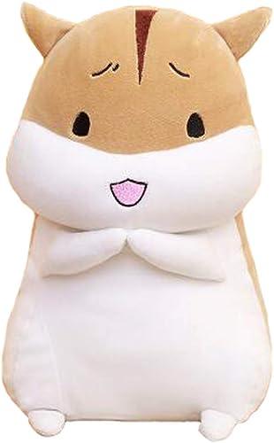 IIWOJ Simulierte Tier Kissen Hamster Kissen Plüschtier Abnehmbare Urlaub Geschenk,L