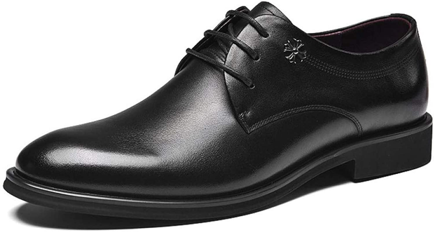 GTYW, Men's Tie with Business Casual shoes, Dress shoes, Casual Wedding Toe Oxford shoes, 41-46