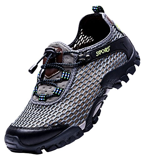 LOUECHY Men's Ponrea Mesh Hiking Shoes Breathable...