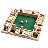 Crazyfly Wooden Board Game A Classic Family Math Game, Wooden Sudoku Puzzle Board