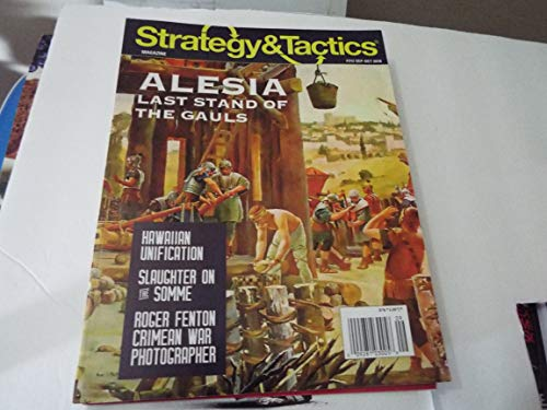 DG: Strategy & Tactics Magazine #312, with Alesia, Last Stand of the Gauls, Boardgame