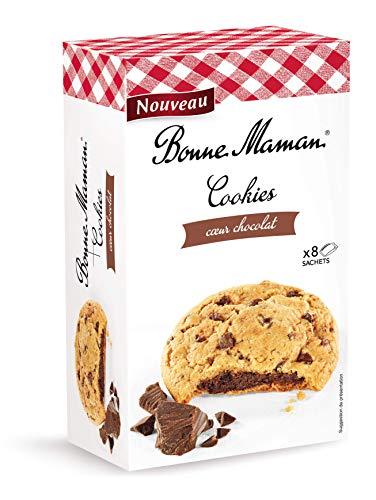 BONNE MAMAN Biscuits Cookies Sables Cœur Chocolat X8