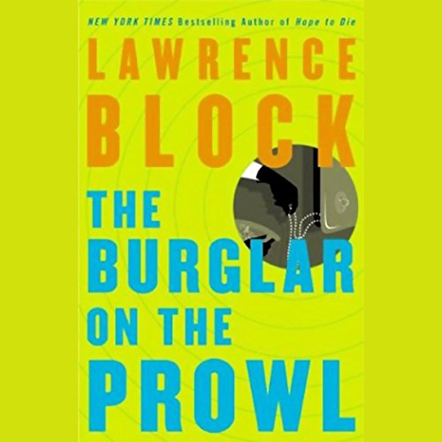 Burglar on the Prowl audiobook cover art