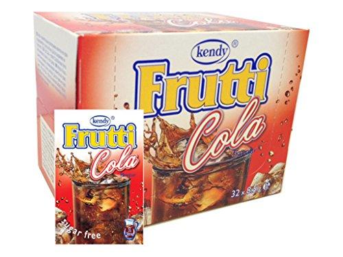 Frutti Instant Getränkepulver ohne Zucker - Geschmackrichtung: Cola 24er Packung