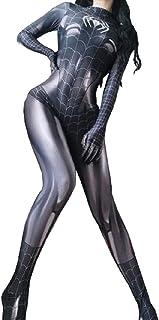 スパイダーマン 全身タイツ コスプレ コスチューム フィット 3Dプリント セクシー ハロウィン イベント 仮装 伸縮性