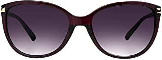 Foster Grant Women's SFGF18014 Emilie' Sunglasses, Plum, One Size