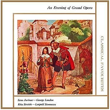 An Evening of Grand Opera