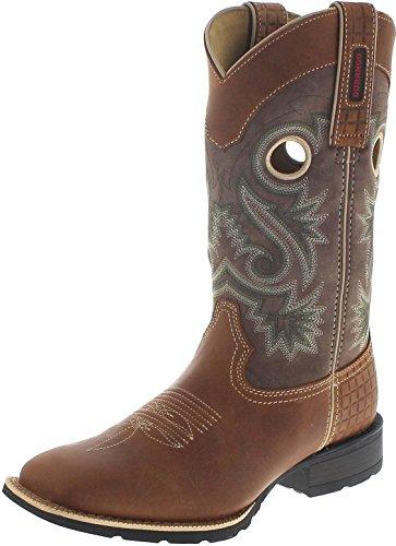 Durango Boots Mustang DDB0119 Brown Dark Brown/Herren Westernreitstiefel Braun/Westernstiefel/Herrenstiefel, Groesse:44.5 (11 US)