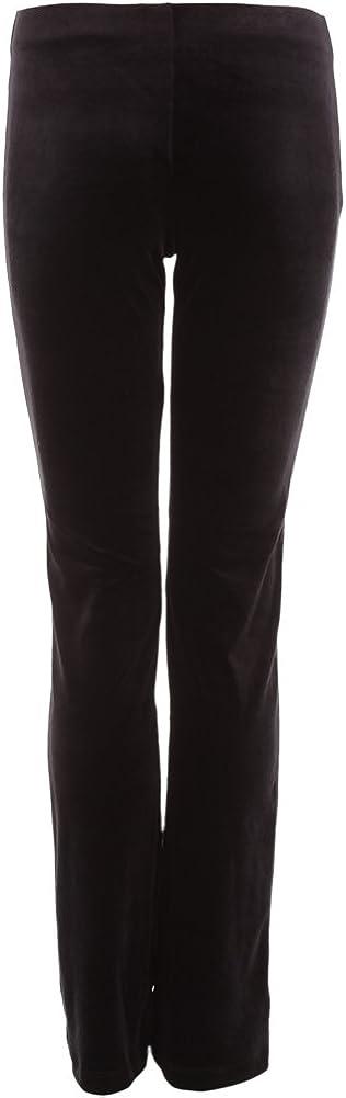 Just For Popular product Phoenix Mall Kix Black Velvet Long Pant- Jazz Fitted