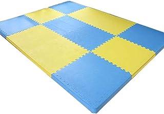 MAHFEI Interlocking Foam Floor Mats Thicken Gym Yoga Room Bedroom Baby Crawling Soft Non-slip Buffer PE, Multiple Colour F...