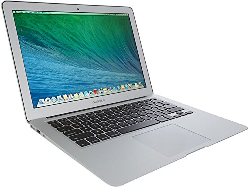 Apple - MacBook Air 13 Intel Core i5 / 4GB / 128GB ssd Hard disk / Tastiera qwerty UK / MD760LL/A (Ricondizionato)