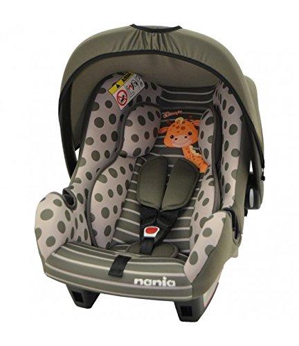 mycarsit Autositz, Gruppe 0+ (0bis 13kg), Motiv Giraffe