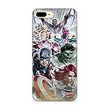 ERT Group Original Marvel Coque de protection pour Avengers 010 IPhone 7 PLUS/ 8 PLUS Phone Case...