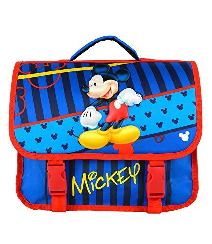 Disney Bagtrotter Cartable Mickey 35cm Bleu