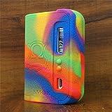 ModShield for Smok OSUB KING 220W TC Silicone Case ByJojo Cover Shield Wrap Skin (Rainbow)