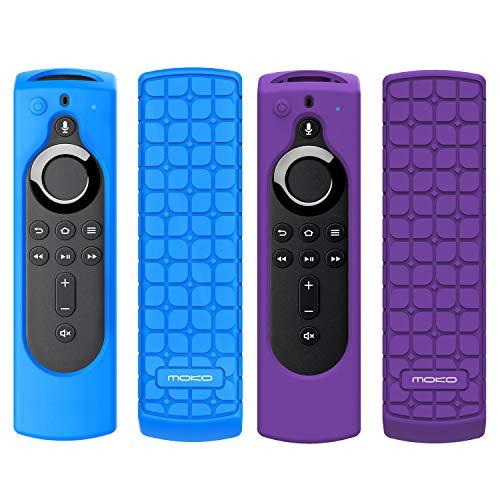 MoKo [2PZ] Custodia Protettiva per Fire TV Stick 4K, Fire TV Cube, Fire TV (3rd Gen) TV Telecomando,...