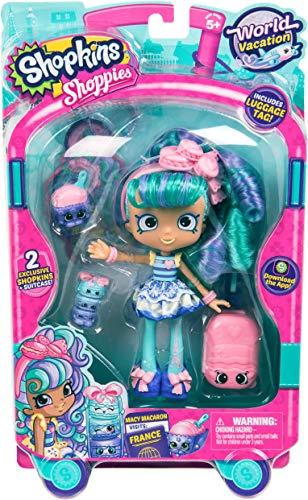 Shopkins World Vacation (Europe) Shoppies Doll - Macy Macaron