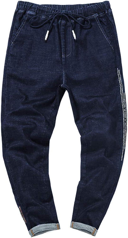 YOJDTD Pants Trousers Plain Pants Plus Fat Pants Large Size Pants