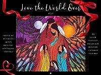 2021年カレンダー – 「Love The World Over」、365日「I Love You」、9インチx12インチ 壁掛けカレンダー