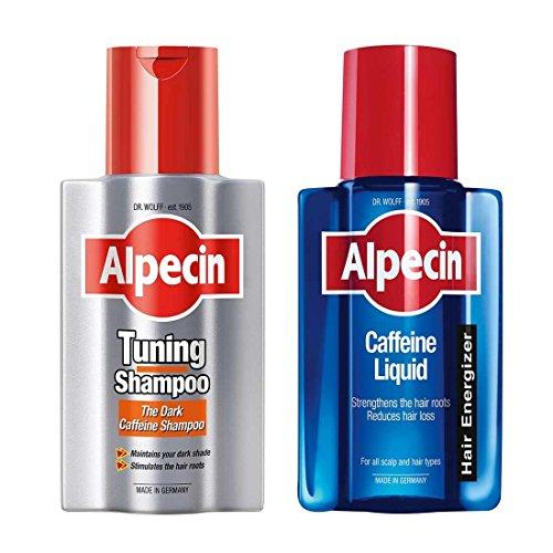 Alpecin Shampoing Tuning & Alpecin Caféine Liquide