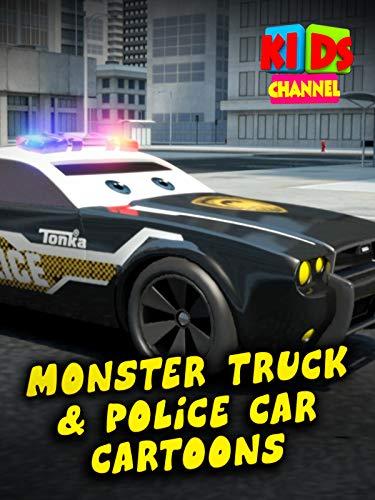 Monster Trucks & Police Car Cartoons - Kids Channel